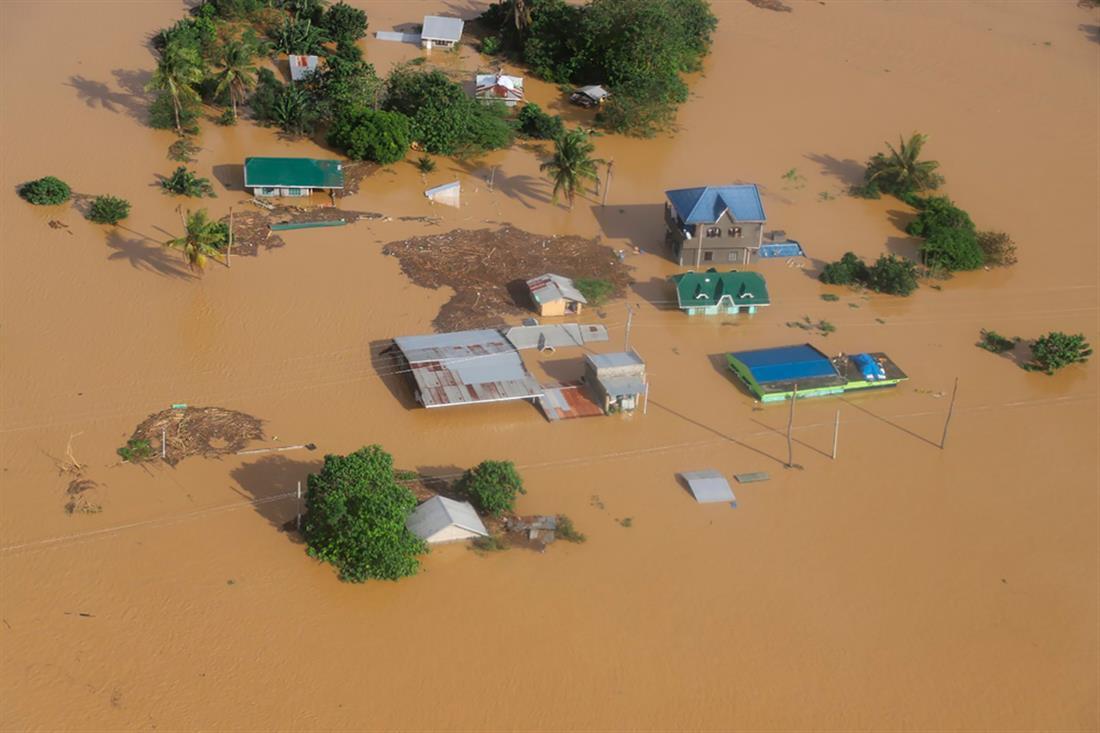 Φιλιππίνες - τυφώνας - πλημμύρες