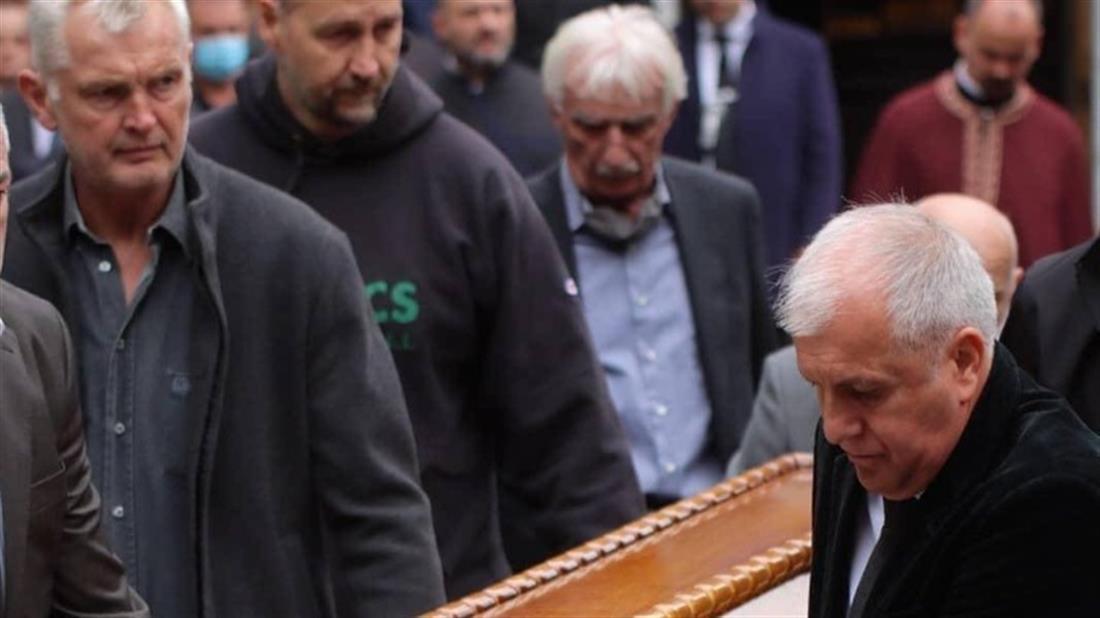 Ντούσαν Ιβκοβιτς - κηδεία