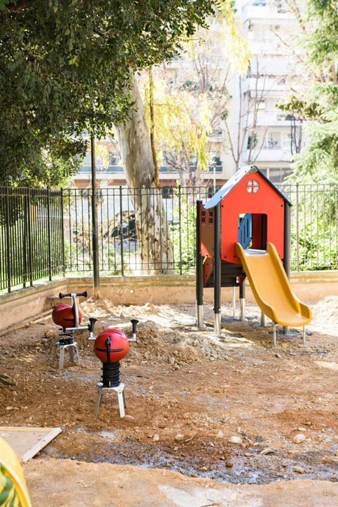Δήμος Αθηναίων - παιδικές χαρές