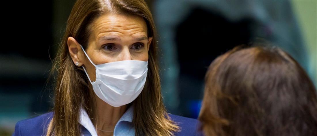 Κορονοϊός: Θετική η Υπουργός Εξωτερικών του Βελγίου