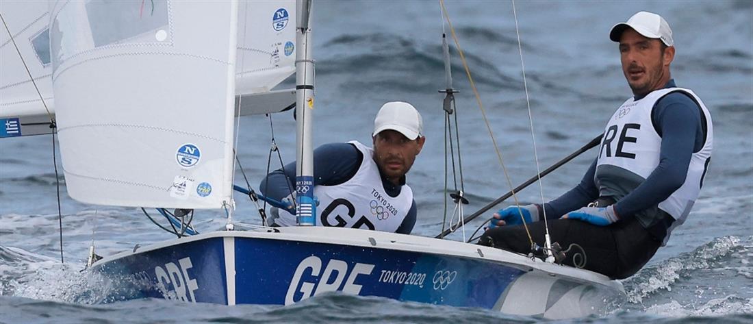 Ολυμπιακοί Αγώνες - Ιστιοπλοΐα: Μάντης και Καγιαλής ανέβηκαν στην 8η θέση