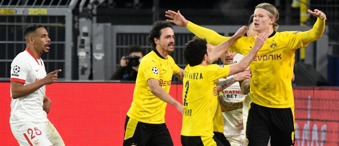 "Champions League: Στους ""8"" η Ντόρτμουντ"