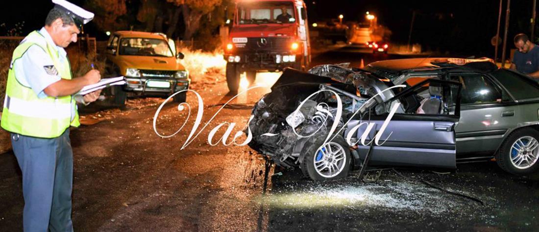 Νεκρός σε τροχαίο με αγροτικό αυτοκίνητο (εικόνες)