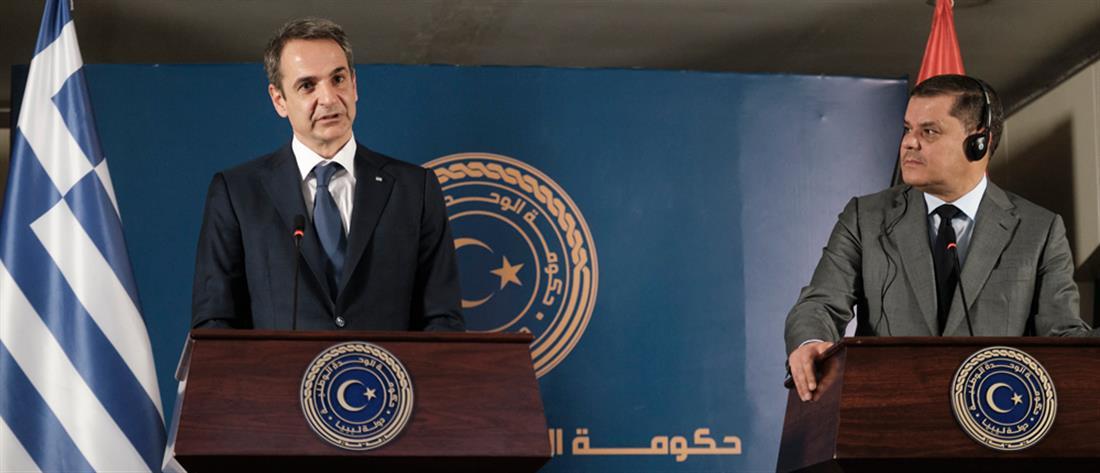 Μητσοτάκης από Λιβύη: Να ακυρωθεί το παράνομο μνημόνιο με την Τουρκία (εικόνες)