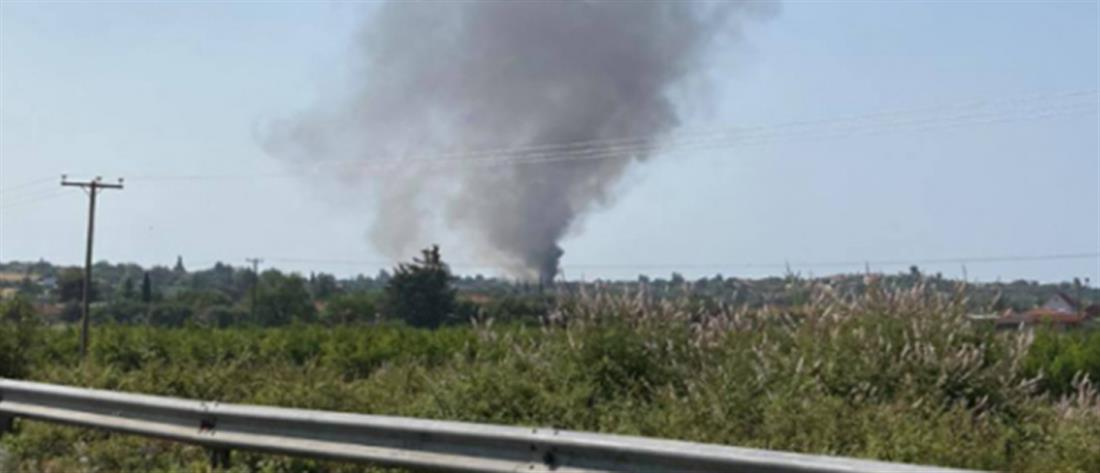 Φωτιά στην Χαλκιδική: Κάηκε σπίτι στη Βεργιά (εικόνες)