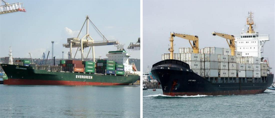 Σύγκρουση πλοίων στο λιμάνι της Θεσσαλονίκης