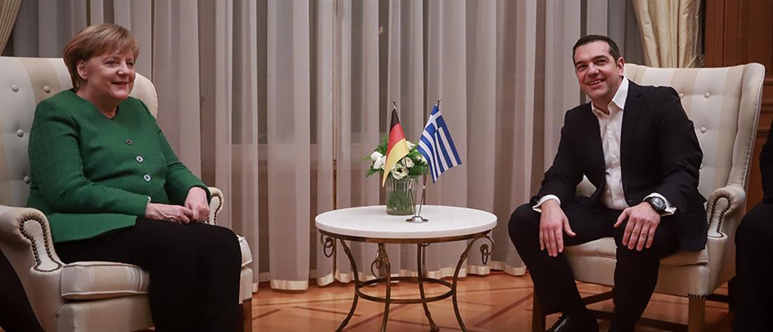 Στην Αθήνα η Μέρκελ μετά από πέντε χρόνια (εικόνες)