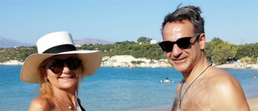 Διακοπές στα Χανιά για το ζεύγος Μητσοτάκη (εικόνες)