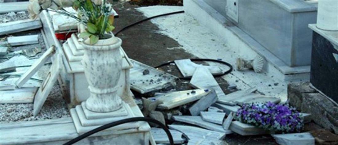 Ξέθαψαν νεκρή και βεβήλωσαν τάφους στο Πλατύ! (εικόνες)