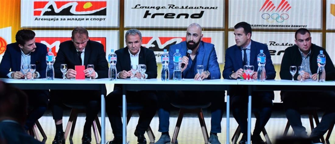 Ο Πέρο Άντιτς πρόεδρος της ομοσπονδίας μπάσκετ της Βόρειας Μακεδονίας