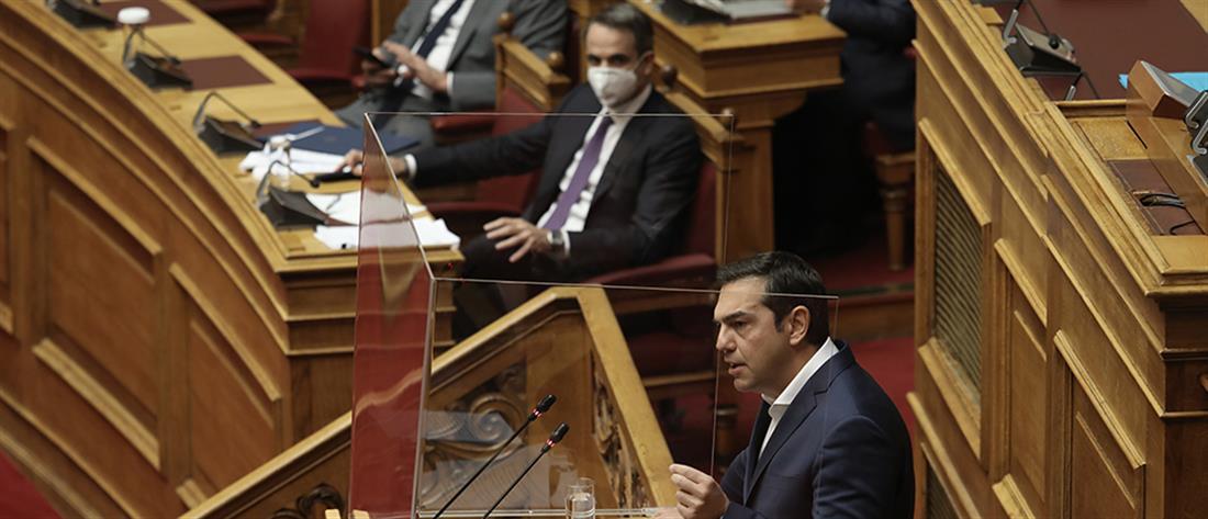 Τσίπρας - Μητσοτάκης - Βουλή