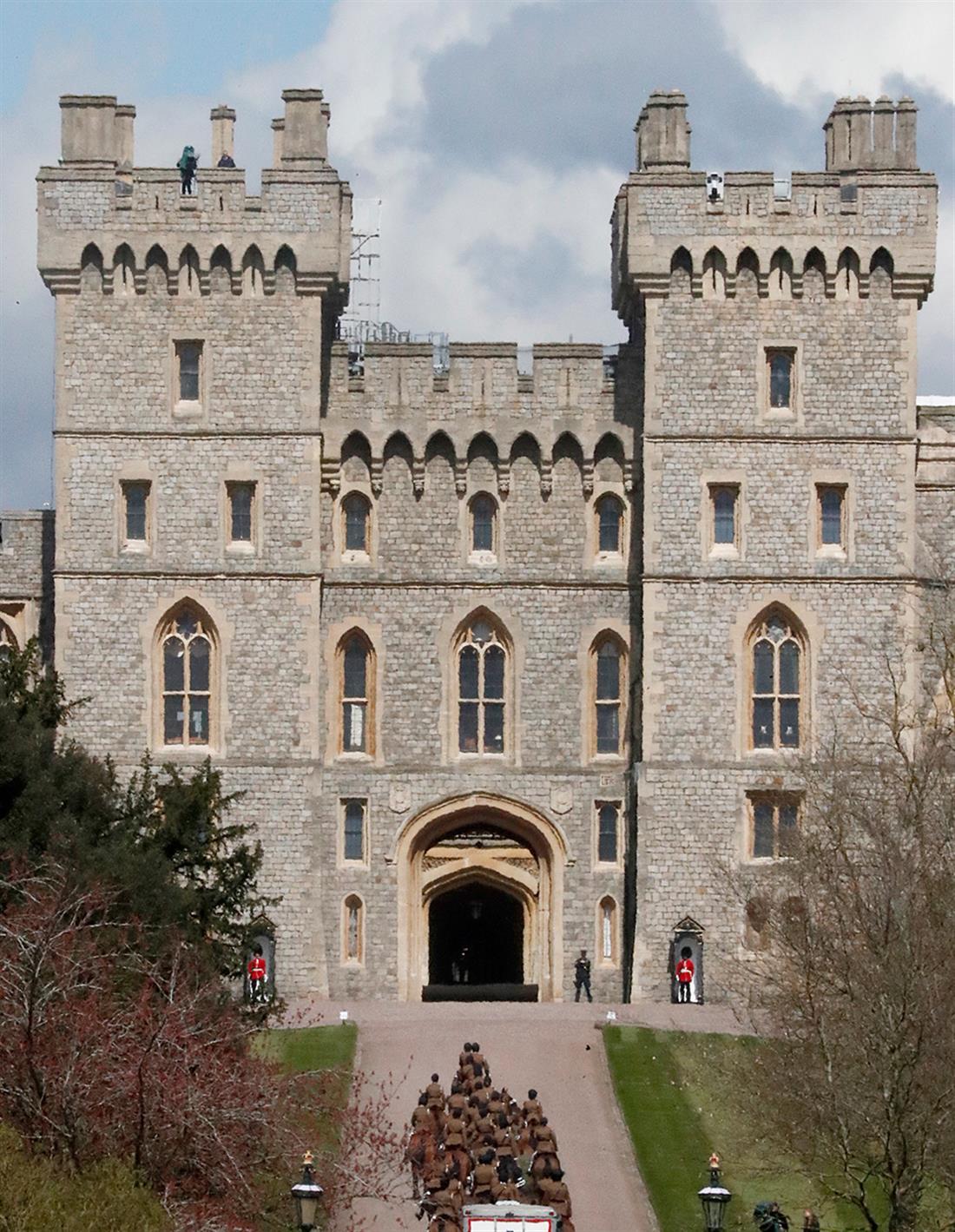 AP - Πρίγκιπας Φίλιππος - κηδεία - Κάστρο του Windsor - Μεγάλη Βρετανία