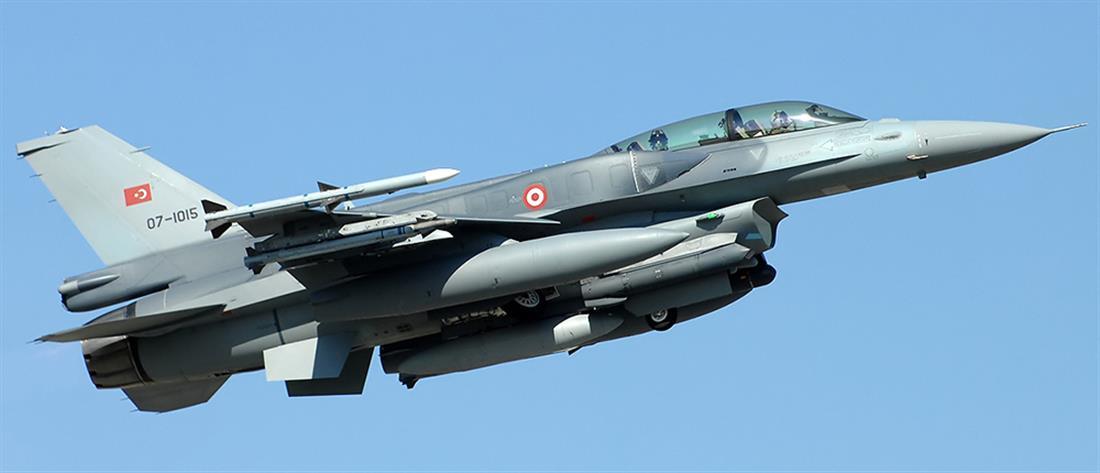 Υπέρπτηση τουρκικών F-16 πάνω από το Καστελόριζο