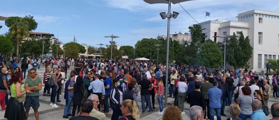 Μεσσήνη: Μεγάλη σιωπηλή διαμαρτυρία πολιτών κατά της παραβατικότητας των Ρομά (εικόνες)