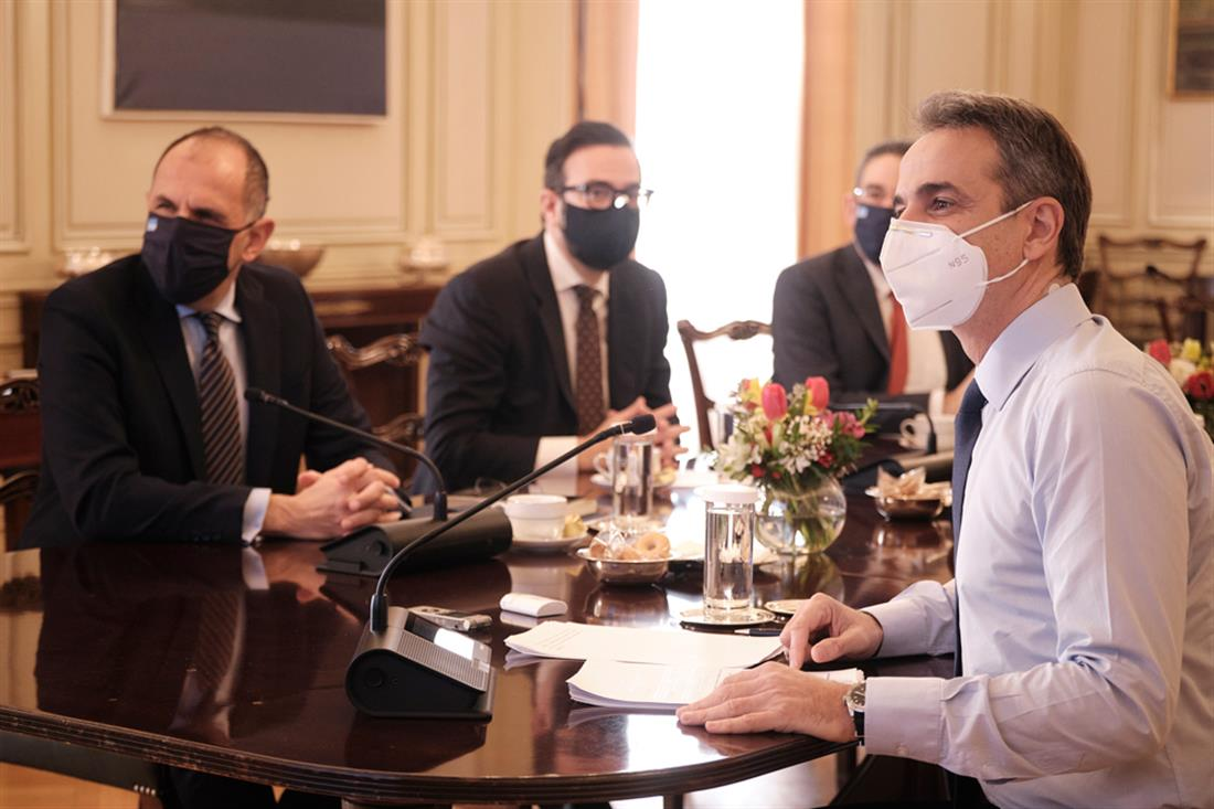 Υπουργικό Συμβούλιο - Κυριάκος Μητσοτάκης