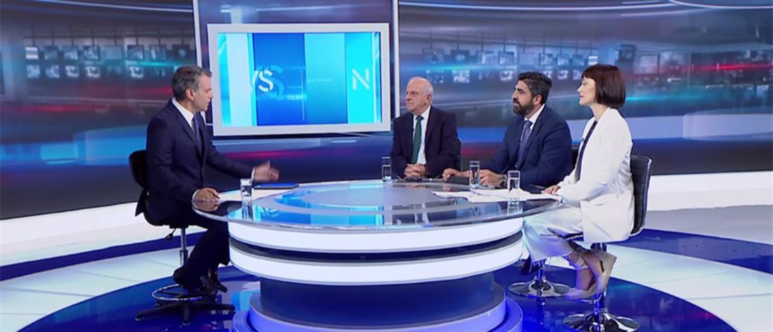 Εθνικές Εκλογές 2019: Αθανασίου, Παπάς και Γιαννακοπούλου στον ΑΝΤ1
