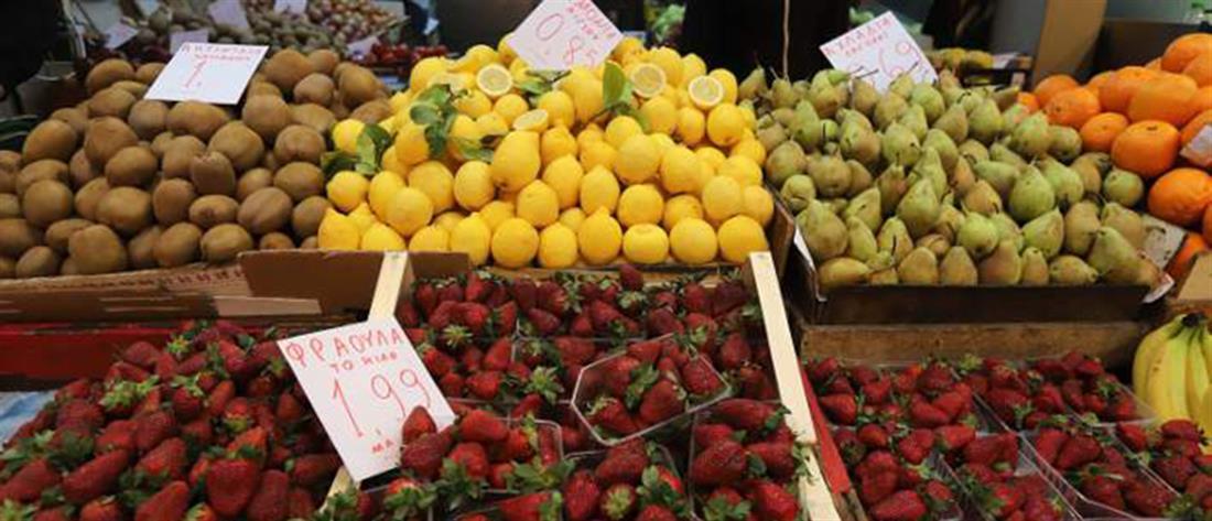 φρούτα - αγορά - λαϊκή