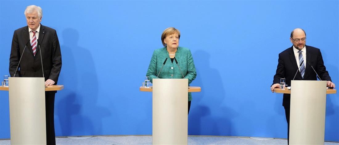 Πικρός συμβιβασμός για την Μέρκελ η κατανομή των Υπουργείων