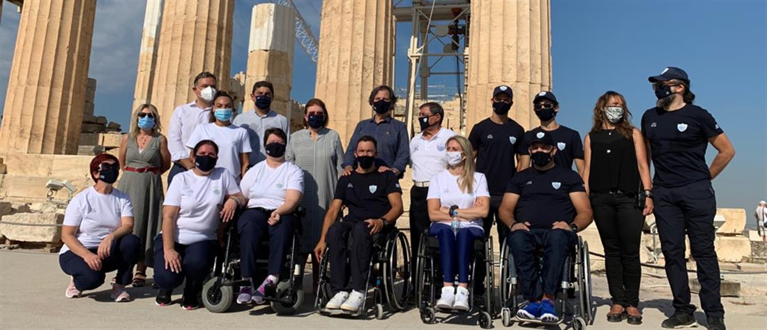 Η ανάρτηση Μητσοτάκη για την επίσκεψη Παραολυμπιονικών στην Ακρόπολη