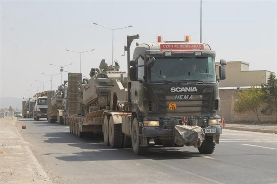 Άρματα μάχης - Τουρκία - σύνορα
