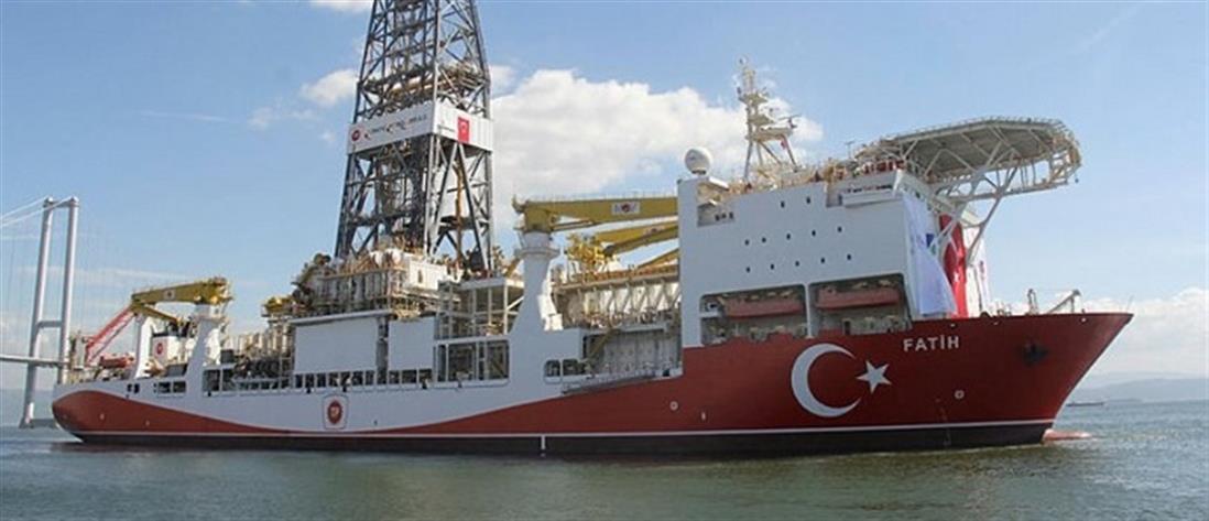 """Τουρκία: Βγαίνει στη Μεσόγειο για γεώτρηση ο """"Πορθητής"""" (βίντεο)"""