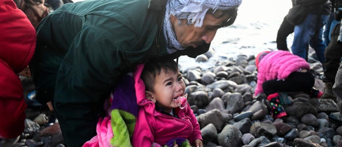 AP - Λέσβος - πρόσφυγες - μετανάστες