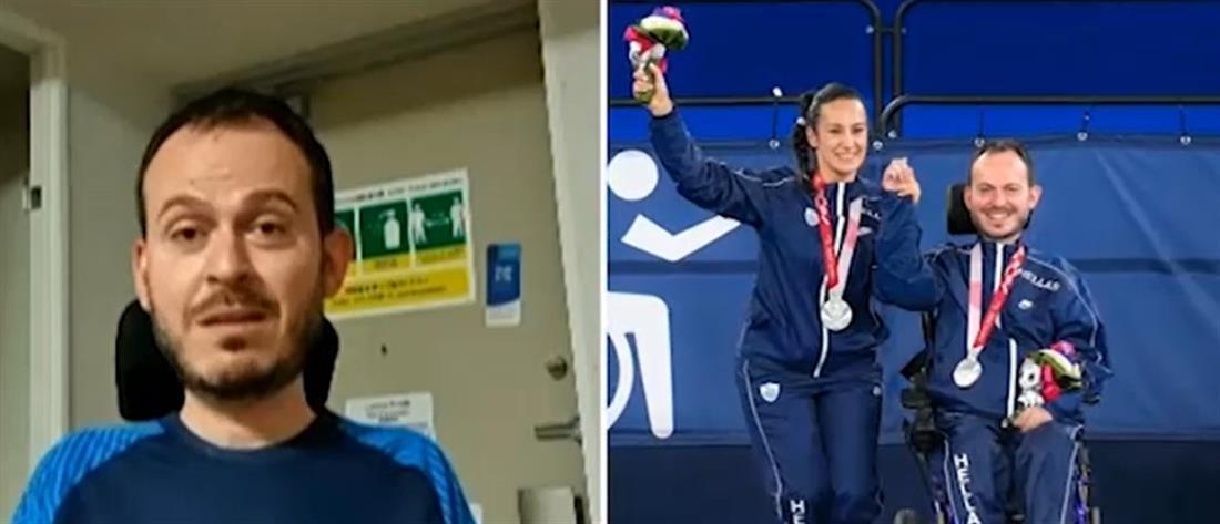 Παραολυμπιακοί Αγώνες: ο Γρηγόρης Πολυχρονίδης στον ΑΝΤ1 για το αργυρό μετάλλιο (βίντεο)