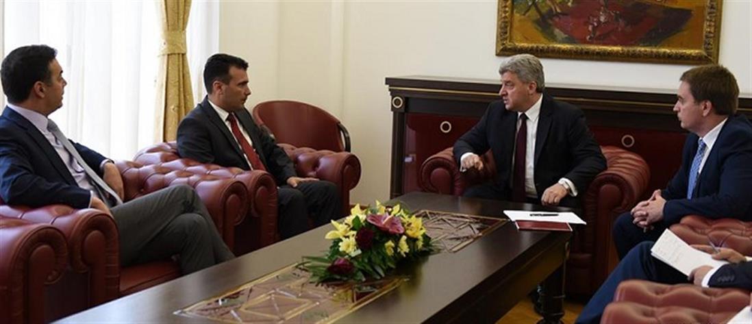 Έξαλλος ο Σκοπιανός Πρόεδρος με τον Ζόραν Ζάεφ