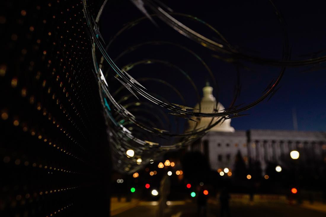 AP - ΗΠΑ - Τζο Μπάιντεν - Μνημείο εγκαινίων