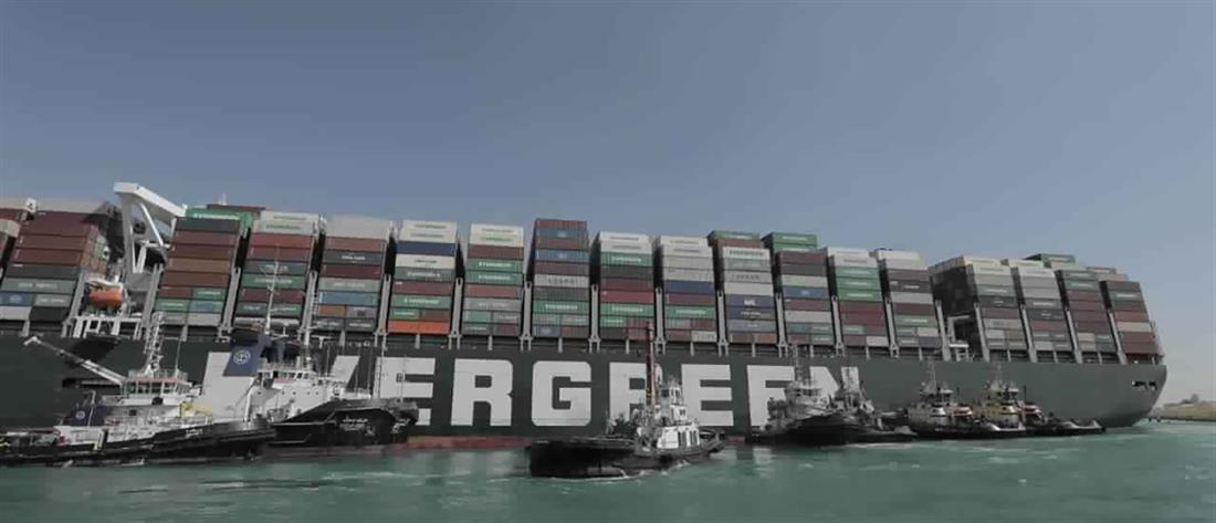 AP - Διώρυγα του Σουέζ - πλοίο - EverGreen