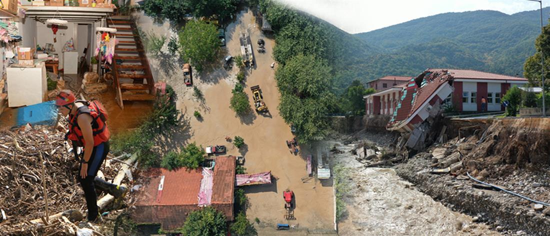 """""""Ιανός"""": νεκροί, βιβλικές καταστροφές και απόγνωση"""