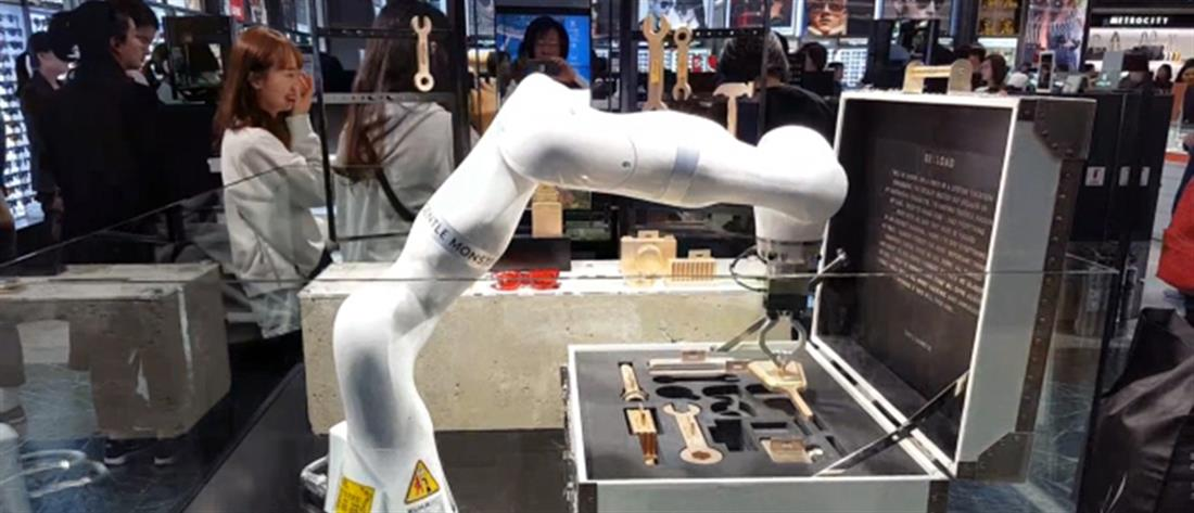 Ρομπότ παρέχουν πληροφορίες και βοήθεια σε επιβάτες αεροδρομίου (βίντεο)