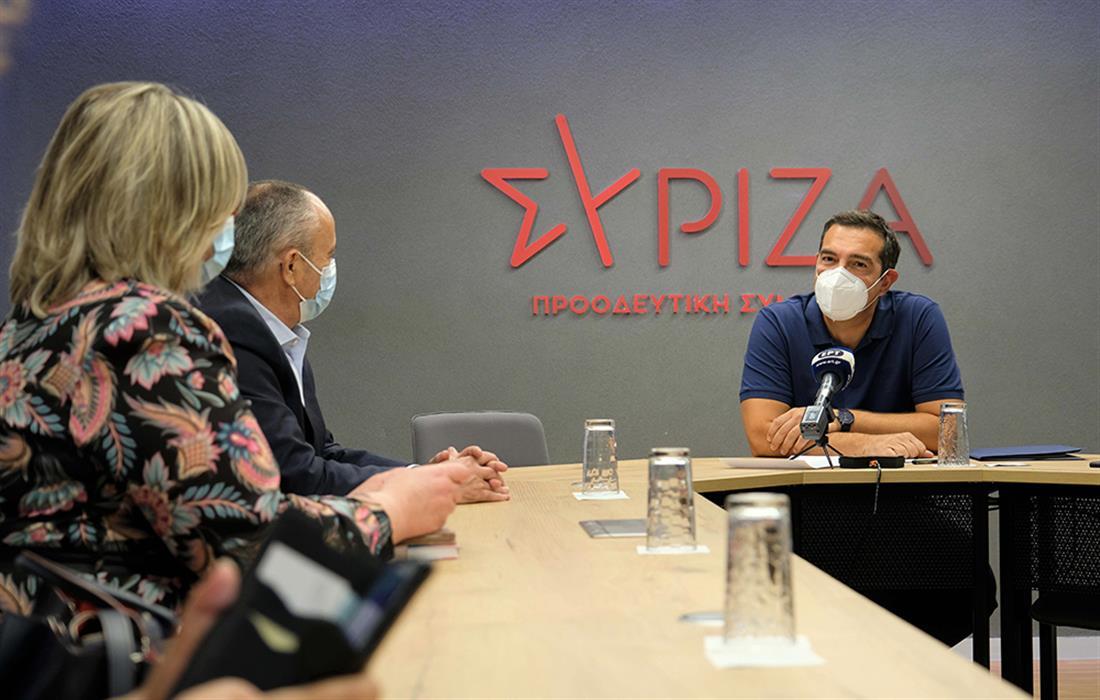 Αλέξης Τσίπρας - Ομοσπονδία Εργαζομένων Υπουργείου Εργασίας - Σώμα Επιθεώρησης Εργασίας