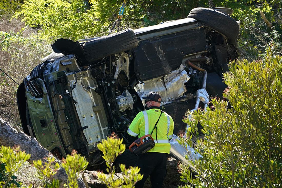 AP - Τροχαίο ατύχημα - Tiger Woods