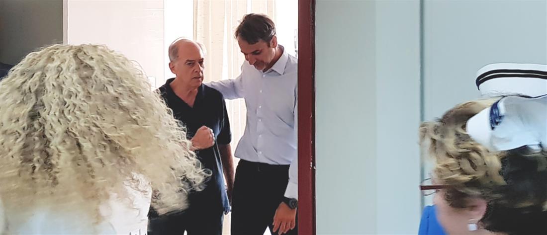 """Στον """"Ευαγγελισμό"""" ο Κυριάκος Μητσοτάκης"""