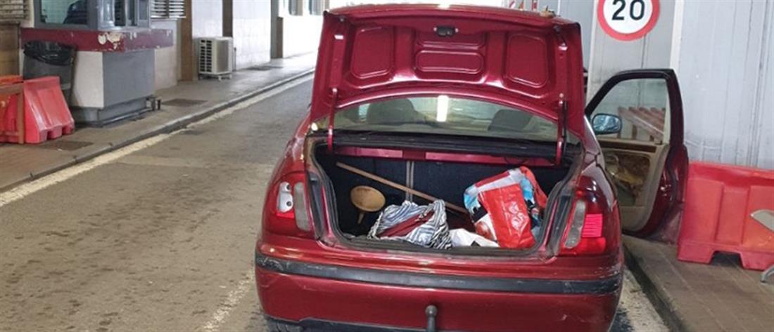 Εύζωνοι: Έκρυψε Αλβανό στο πορτ μπαγκάζ για να τον περάσει στη χώρα
