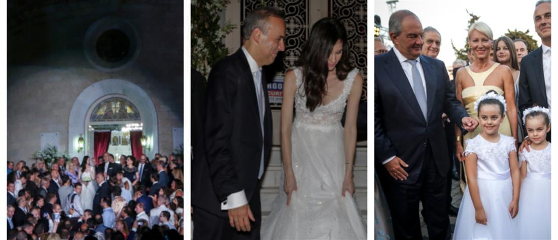 Παντρεύτηκε ο Δήμαρχος Γλυφάδας με κουμπάρο τον Κώστα Καραμανλή (εικόνες)