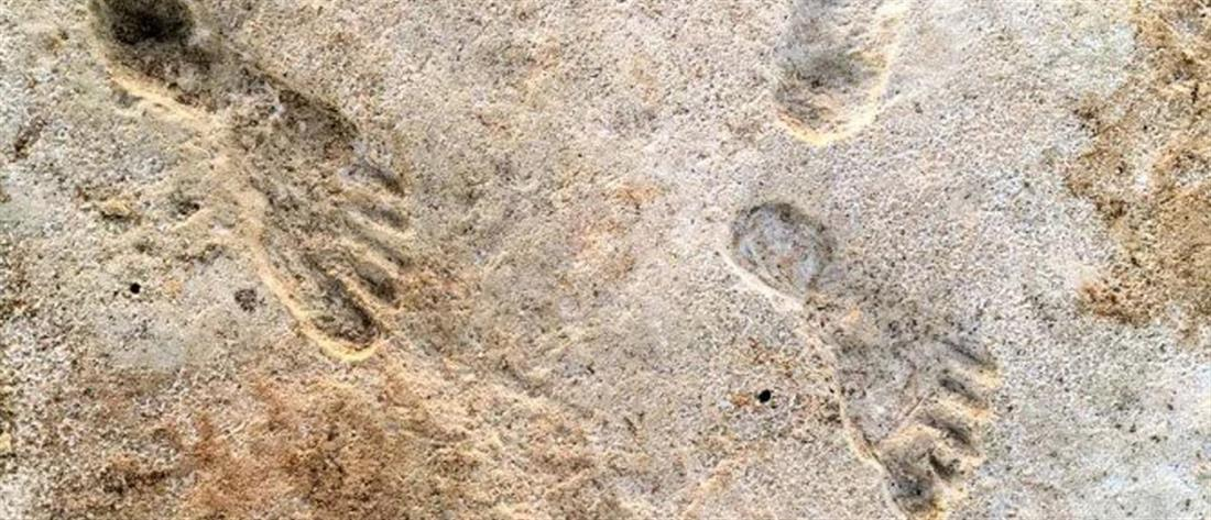 Αμερική: Βρέθηκαν οι αρχαιότερες πατημασιές ανθρώπων