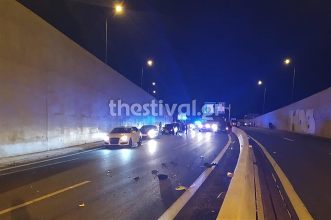 Θεσσαλονίκη - τροχαίο δυστύχημα - μοτοσυκλέτα