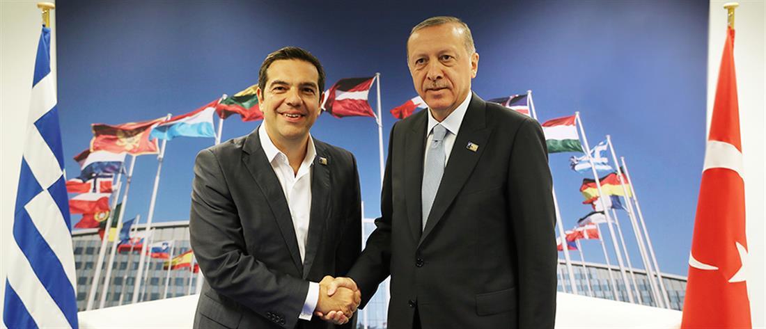 """""""Ραντεβού"""" με Ερντογάν, οικονομία και προσφυγικό στην ατζέντα Τσίπρα στη Νέα Υόρκη"""