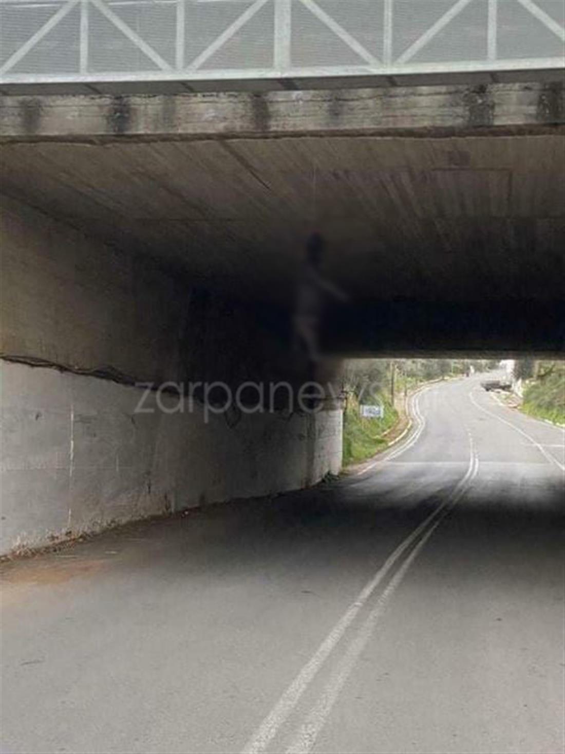 σκύλος - γέφυρα - χανιά