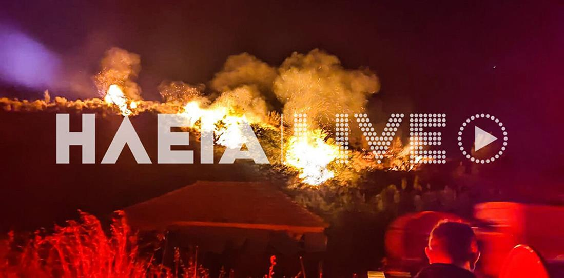 Φωτιά - Ηλεία - Άγναντα Πηνείας