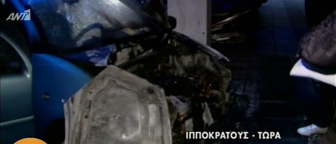 Μπαράζ εμπρησμών αυτοκινήτων στην Αθήνα