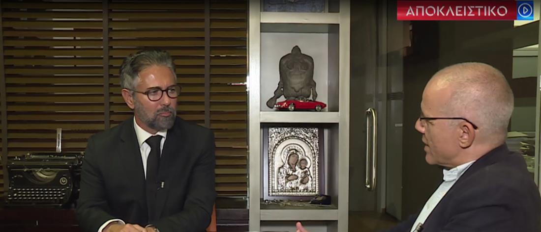 Φρουζής στον ΑΝΤ1: η Τουλουπάκη με προέτρεψε να μιλήσω για πολιτικά πρόσωπα (βίντεο)