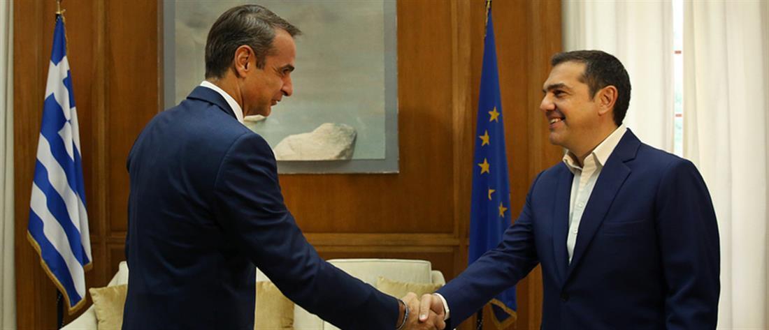 Τι είπαν Μητσοτάκης - Τσίπρας για ψήφο ομογενών και Τουρκία