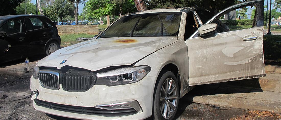 Θεσσαλονίκη: Εμπρησμός σε αυτοκίνητα της τουρκικής διπλωματίας (βίντεο)
