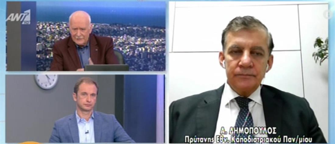 Κορονοϊός - Δημόπουλος στον ΑΝΤ1: Δεν είδαμε επιβάρυνση στα δημοτικά σχολεία (βίντεο)