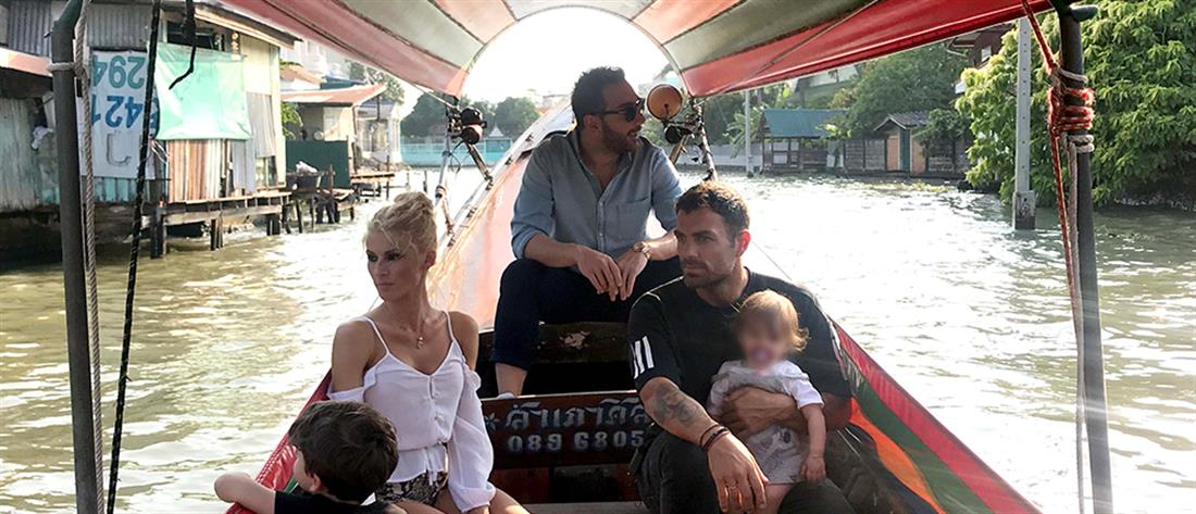 Το Celebrity Travel πάει Ταϊλάνδη και μαζί του παίρνει την οικογένεια Χανταμπάκη