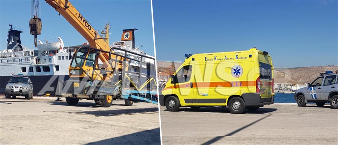 Δραπετσώνα: Δύο νεκροί από την πτώση ΙΧ στο λιμάνι