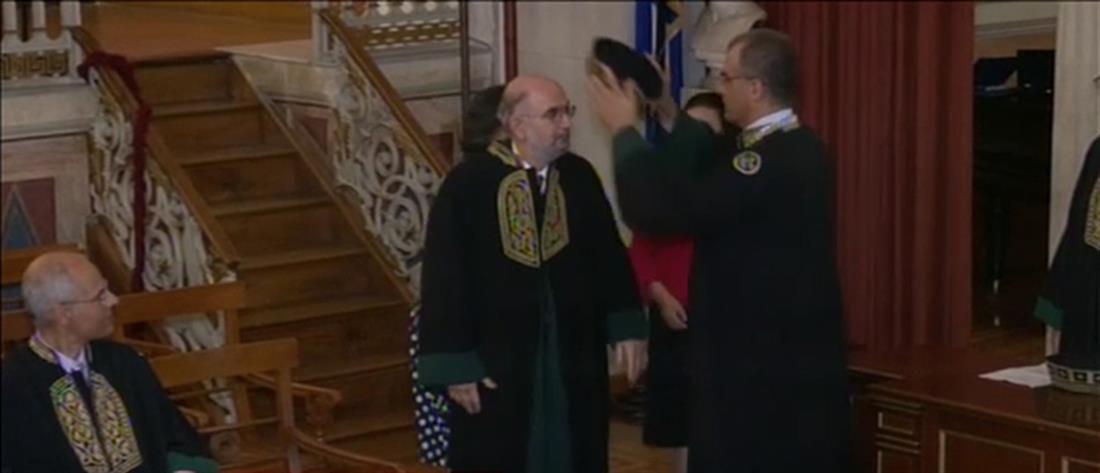 Επίτιμος Διδάκτορας του ΕΚΠΑ ο Μιχαήλ Γιαννακάκης (βίντεο)